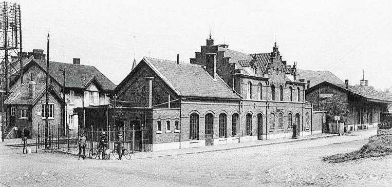 Oude Station van Pâturages