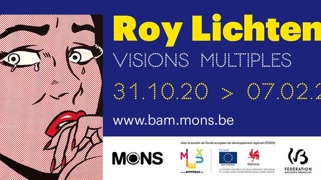 """Roy Lichtenstein """"Verchillende visies """""""