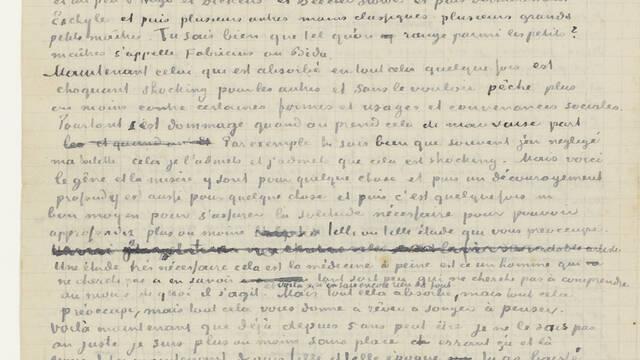 Transcriptie van een brief aan zijn broer Theo (juni 1880)