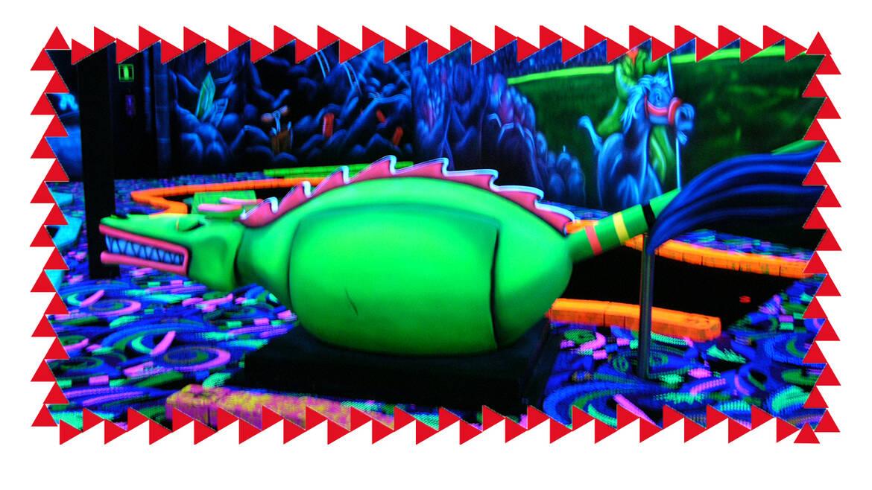 Goolfy en Lasergame!