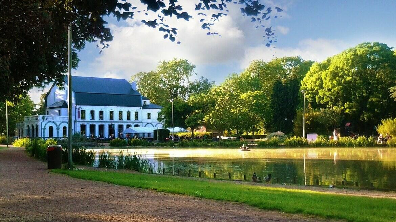 Het park van Jemappes, een recreatiedomein
