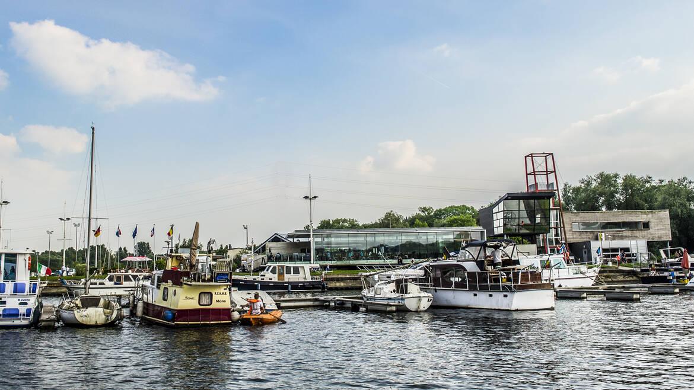 La Capitainerie, een symbolische plek aan de jachthaven