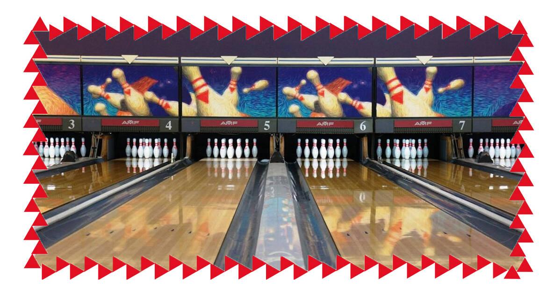 Oefen uw strike in de Bowling des bassins!
