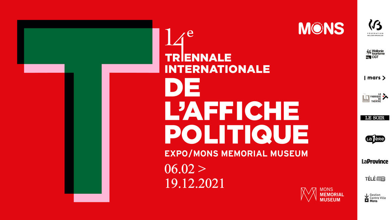 14de editie van de Triënnale van de Politieke Affiche
