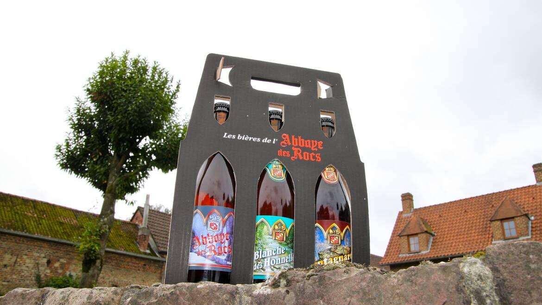 De brouwerij van de Abbaye des Rocs, natuurlijke bieren! (Honnelles)