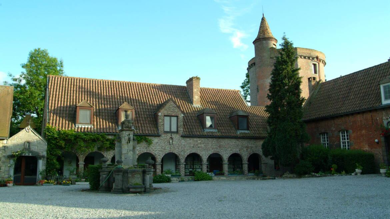 Het zeer oude kasteel van Egmont (Jurbise)