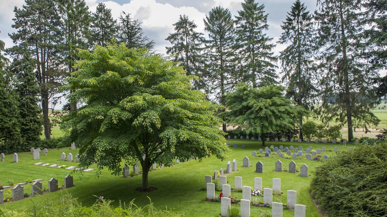 De begraafplaats van Saint-Symphorien