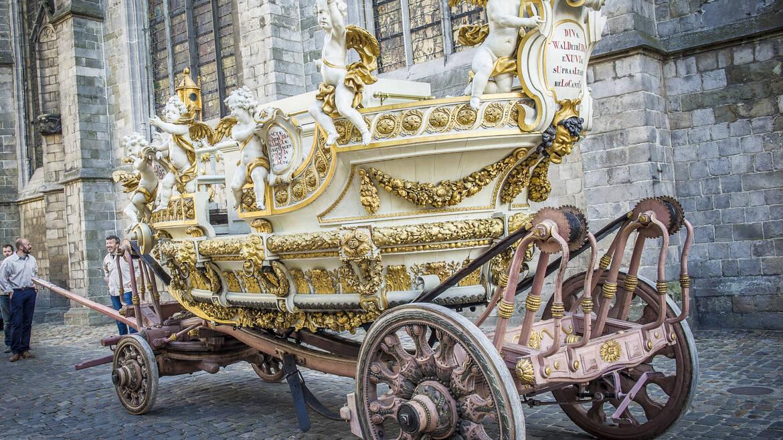 De beklimming met de Car d'Or