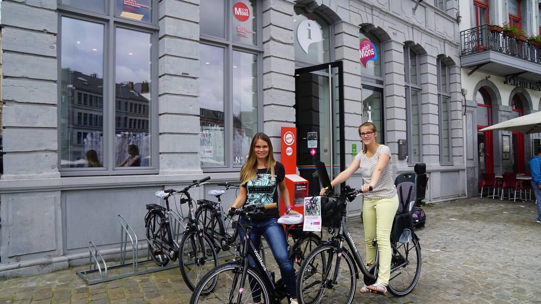 Huur een fiets en trek eropuit om Mons en omstreken te ontdekken!