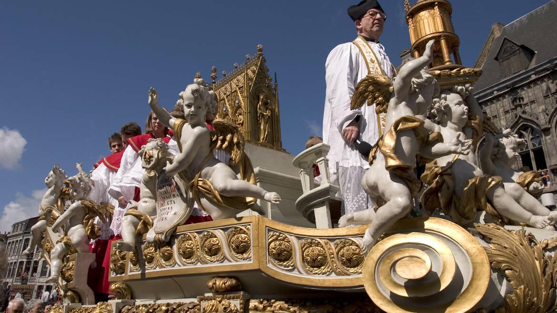 De processie van de Car d'Or
