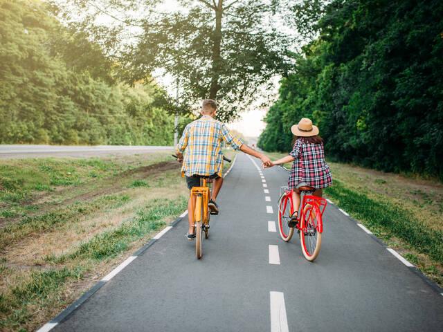 Mons met de fiets