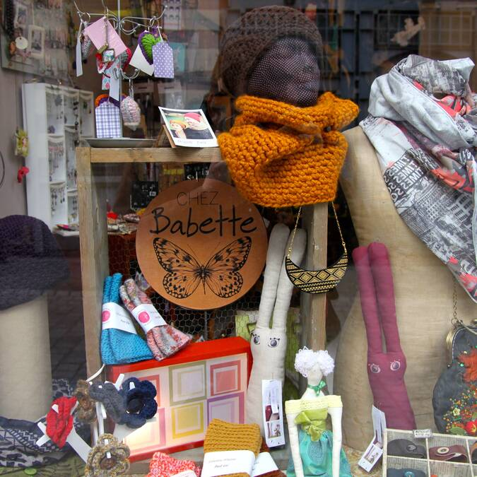 Des objets et bijoux faits main Chez Babette - Copyright S.Hennebique